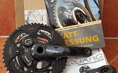 SRAM Quarq Carbon POWERMETER + Wattmessung im Radsport