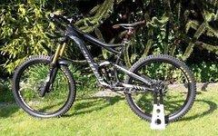 Cannondale Claymore 2 Größe L schwarz Mountainbike Enduro Bike