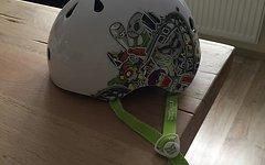 Kali Kinder Helm Größe XS (48-54 cm) MTB, BMX, Dirt, Skate.....