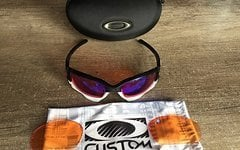 Oakley Custom Jawbone/Racing Jacket Prizm Trail und Persimmon Gläser