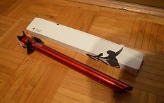 Tune Starkes Stück 420mm 31,6mm rot