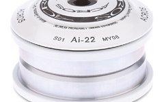 Acros Steuersatz Oberteil ZS44/28,6 weiß