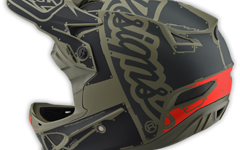 Troy Lee Designs D3 HELM Gr. M Fiberlite FACTORY TROOPER