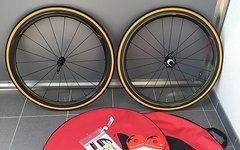 Fulcrum Racing Quattro Carbon Clincher Laufradsatz