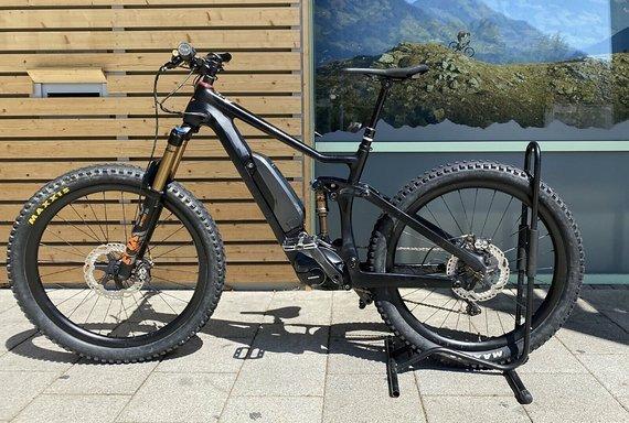 Wallis Carbon E-Bike Fully - neuer Motor