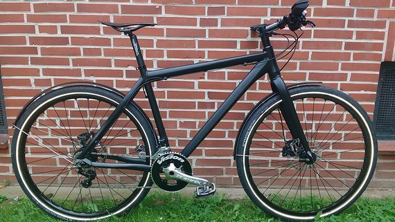 "28"" Custom Bike mit 2x8 Alfine, SLX, Mavic, FSA, Ritchey, Tune usw."