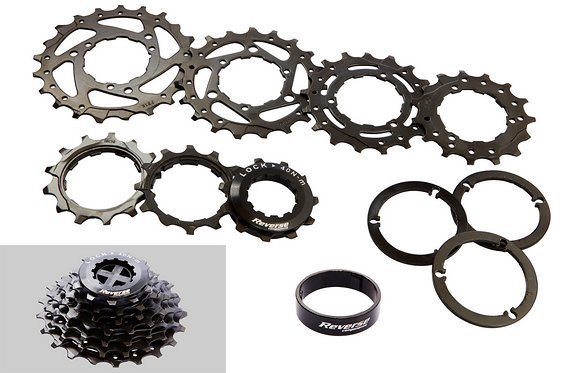 Reverse Components Black ONE 7-Fach DH (11-21)