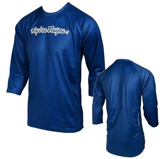 Troy Lee Designs Ruckus Jersey , Blau Blue Navy S Small