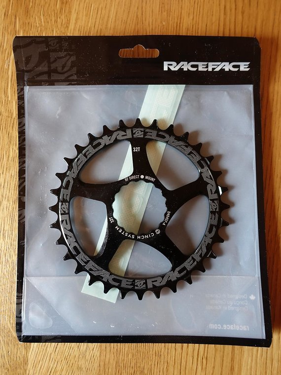 Race Face Narrow Wide Kettenblatt Cinch Direct Mount, 10-/11-/12-fach