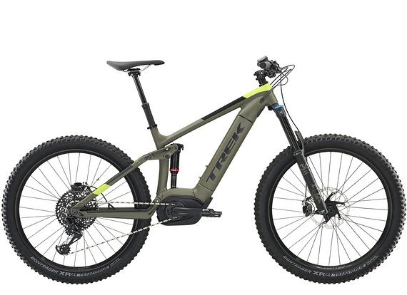 Trek Powerfly LT 9 Plus Matte Olive Grey 2019 19.5