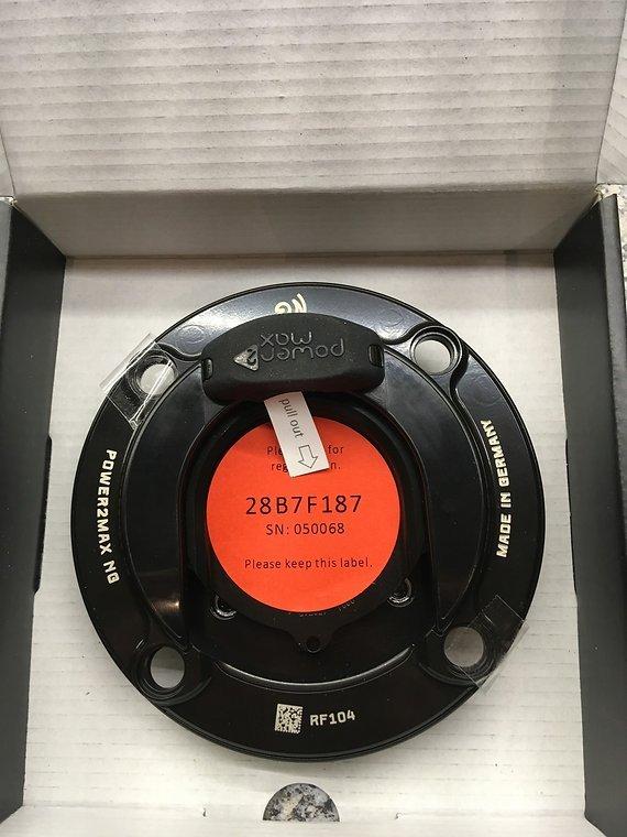 Power2Max P2M NGeco MTB Race Face Powermeter Leistungsmesser