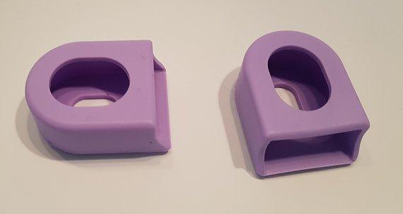 Silicone flex-protect Kurbelschützer Crank Boots *flieder* *lila*
