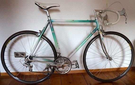 Somec Campagnolo Somec Columbus Cromor 55 cm Vintage Classic Road Bike Campagnolo Chorus Ende 80er