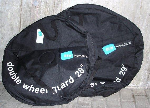 """B & W 28"""" und 29"""" Doppel - Laufradtaschen, Neu"""