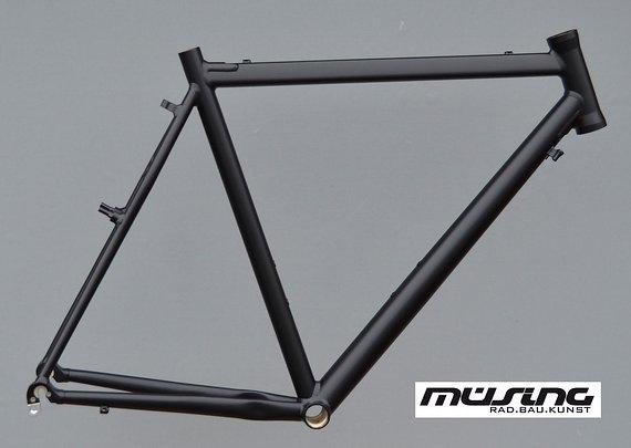 Müsing Cyclocross Rahmen in RH 60cm schwarz Gravelbike NR426