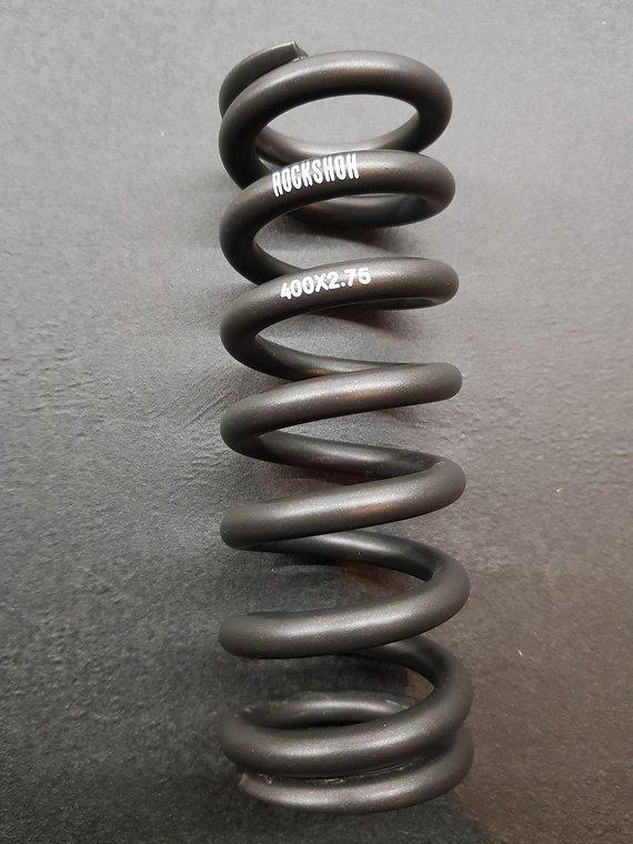 RockShox Stahlfeder für metrische Dämpfer, 151 mm (57,5 - 65 mm)black/400 lbs