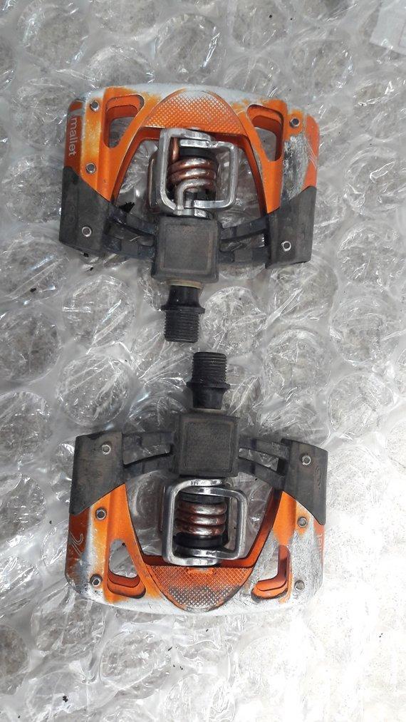 Crank Brothers Mallets orange