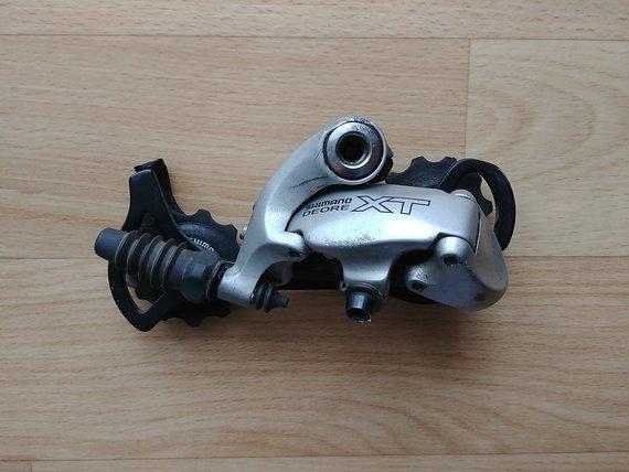 Shimano RD-M750 Deore XT 9x Schaltwerk vintage