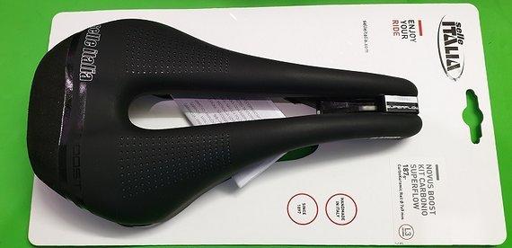 Selle Italia Novus Boost Kit Carbonio Superflow Carbon Neu
