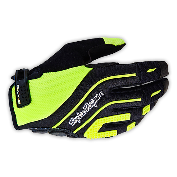 Troy Lee Designs RUCKUS GLOVE Gr.S FLO YELLOW