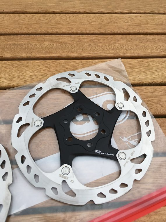 Shimano XT Icetech 160mm Scheiben neu