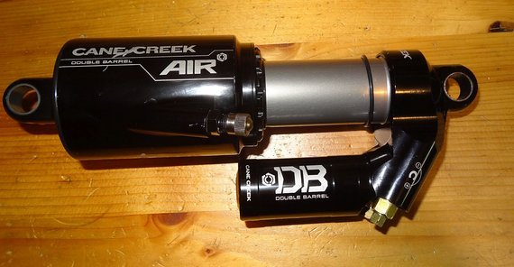 Cane Creek Double Barrel Air 216x63 - Frisch vom Service