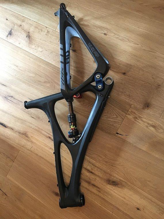 Ibis Cycles Mojo HD 160 Lg mit Fox Evol