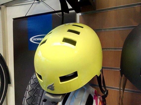 Bluegrass Super Bold Dirt Helm Neongelb Glanz Large 60-62cm