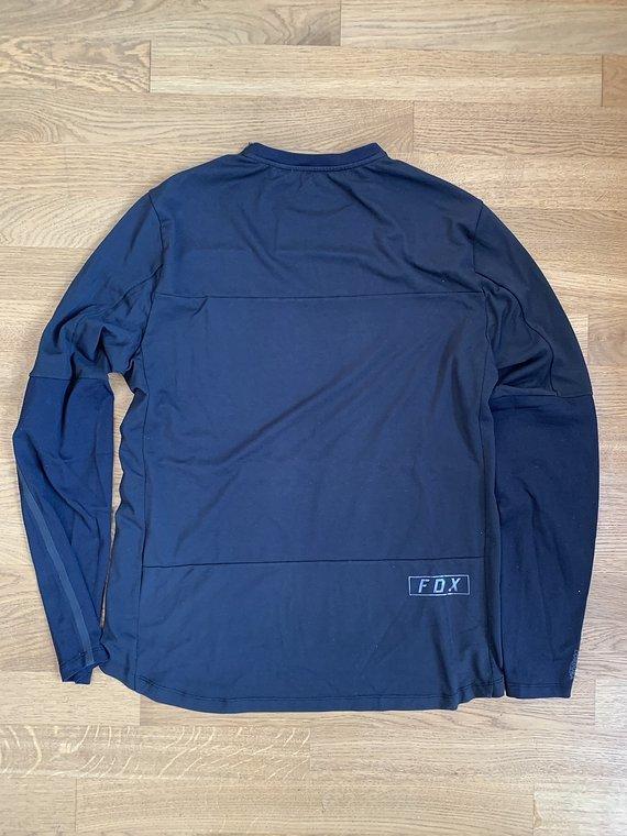 Fox Defend Delta Long Sleeve Jersey Schwarz Größe M