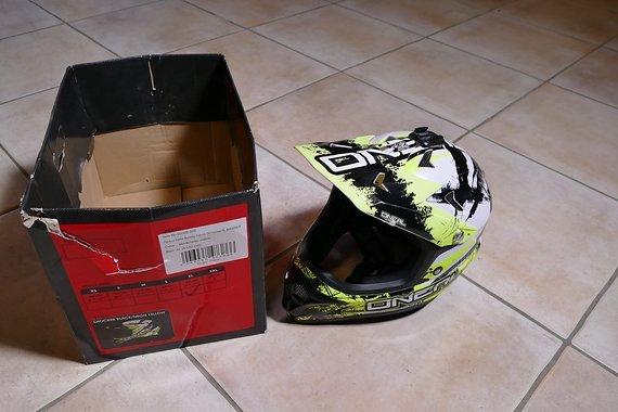 O´neal Full Face Helm Xl Backflip Fidlock DH Helmet RL Shocker black / neon Yellow