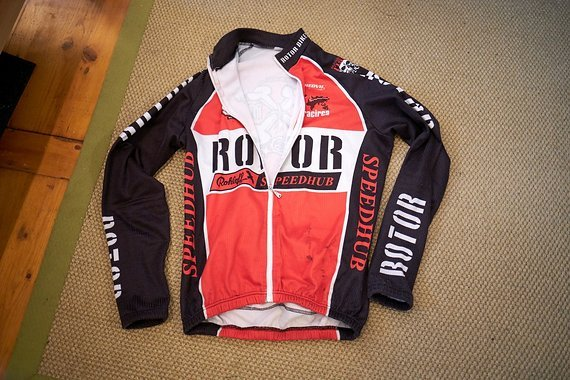 Rotor Bikes Langarmtrikot Winter Team