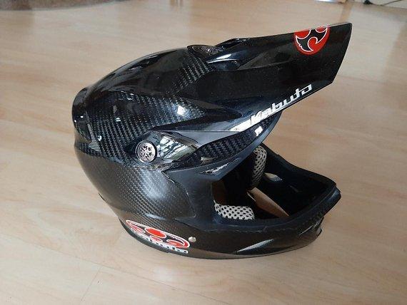 Kabuto carbon DH Helm XL/XXL (Gr. 59/60)