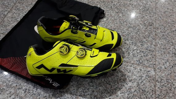 Northwave Extreme XC yellow fluo 44