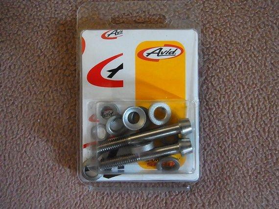Avid CPS Hardware Kit, Titan, 185 mm, neu