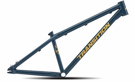 "Transition Bikes Rahmen PBJ Dirtjump 26"" 2020 Größe S blau"
