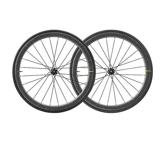"""Mavic Cosmic Pro Carbon SL UST Disc """"Tour de France"""" mit UST-Reifen"""