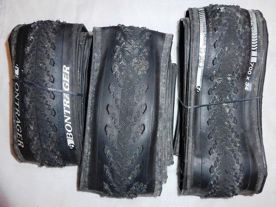 Bontrager CX0 Gravel Reifen, 3 Stück, 700x34 und 700x38