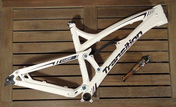 """Transition Bikes Covert Carbon Rahmen - NEU! - Größe L - 26"""" und 27,5"""""""