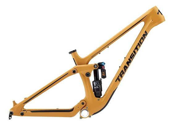 Transition Bikes Sentinel Carbon Trail Bike Rahmen, 2020, Gr. S