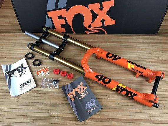 """Fox 40 Factory Shiny Orange 2020 27,5"""" *NEU*"""