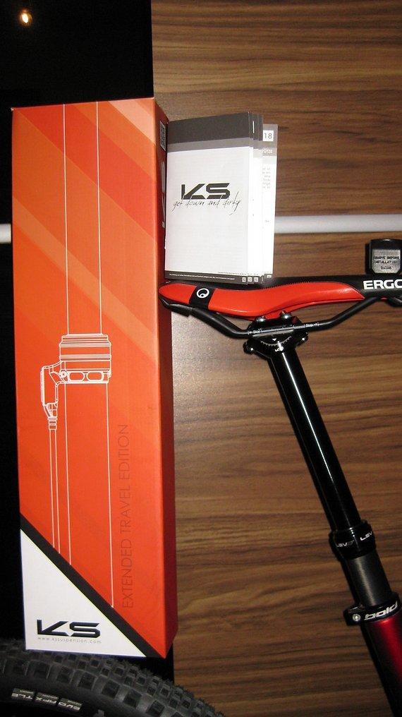 Kind Shock LEV Ci Carbon Remote 175mm