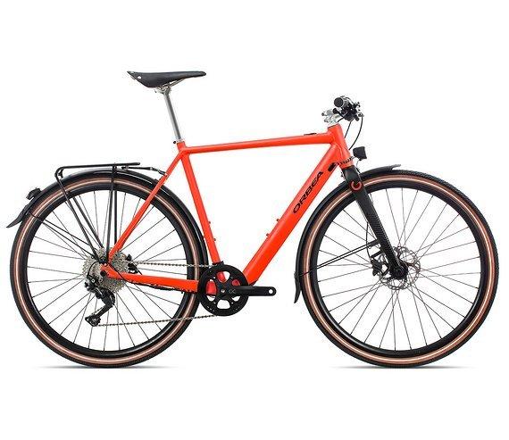Orbea Gain F10 Rot-Schwarz 2020 M