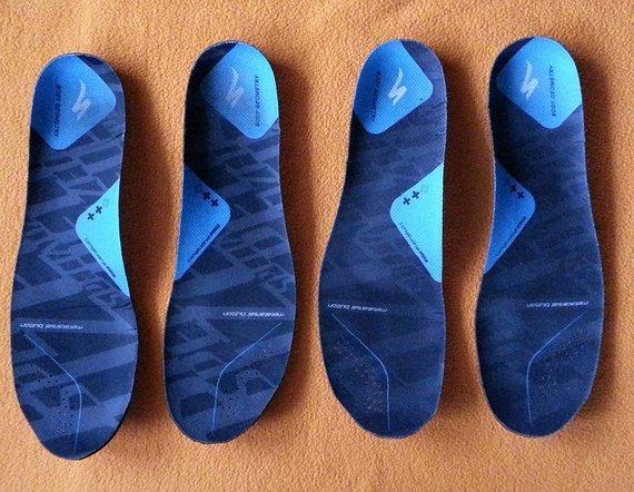 Specialized Body Geometry SL 2 Paar Einlegesohlen