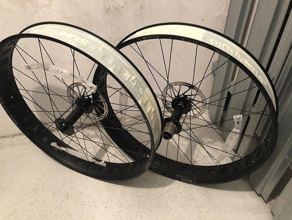 Sunringle Mulefut 80 Sl Fatbike-Laufradsatz NEU ! aus Neurad ausgebaut, tubelessready