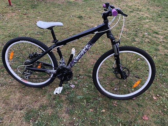 Scott voltage yz 30 purple Dirt Bike Größe S