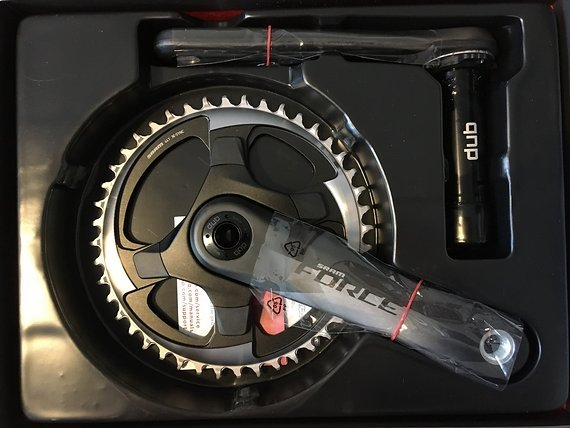 SRAM Force 1 DUB Kurbel Carbon 1-fach