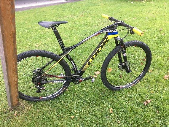"Look Mountainbike Look 989 29"" Carbon Gr. Medium Sram XO1 Rock Shox Sid WC XTR DTSwiss"