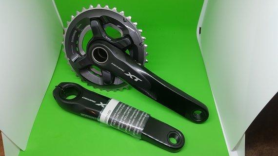 Shimano Kurbel XT 8000 36/26 non Boost Mountainbike 2x11 Neu