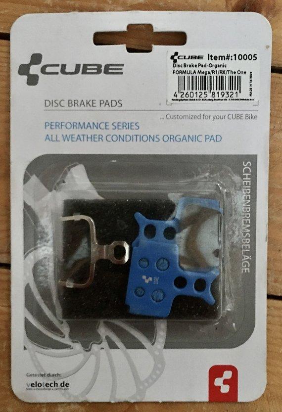 Replacement Bremsbeläge Disc für Formula R1 RX Mega TheOne organisch Bremsbelag