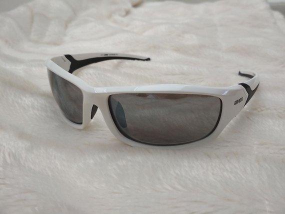 Uvex Sportstyle 211 Sportbrille (weiß)